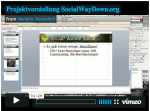 Projektvorstellung SocialWayDown als Video