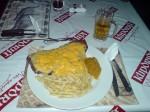 600g Steak mit extra viel Käse...figurbetonend